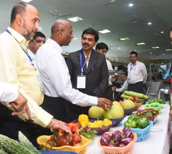 Trade show at india